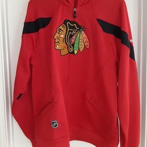 Chicago Blackhawks NHL Red hooded sweatshirt XL